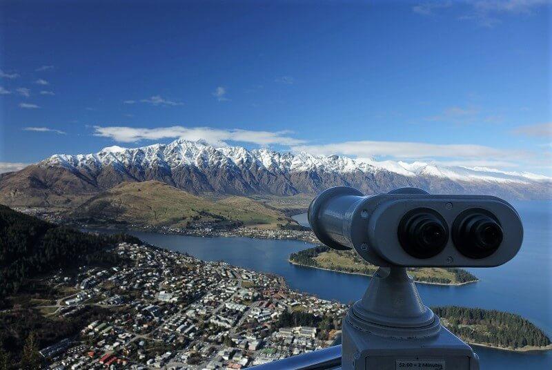Queenstown in Nieuw-Zeeland