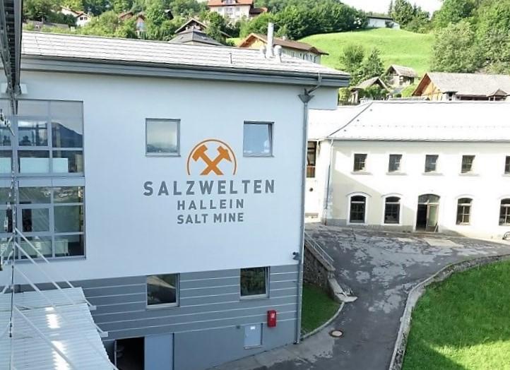 zoutmijn Salzwelten bij Salzburg