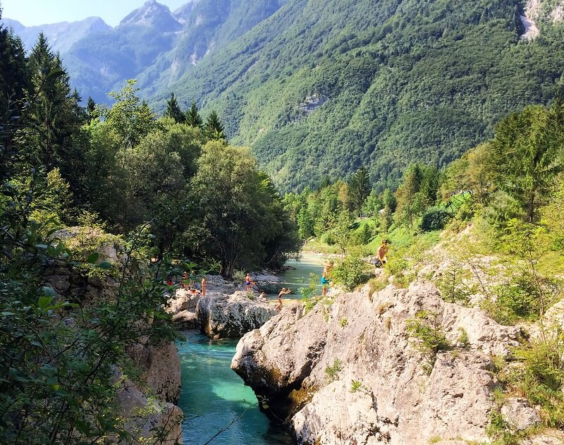 Soča-rivier