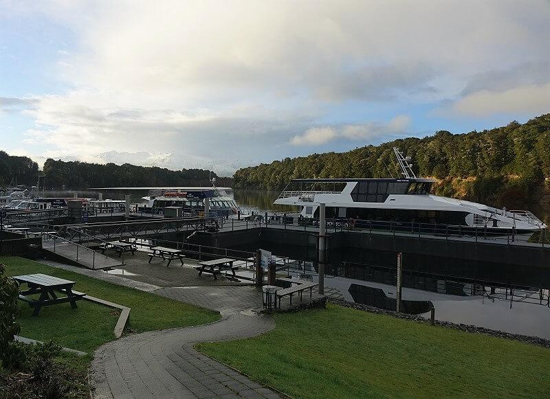 Ferry Lake Manapouri