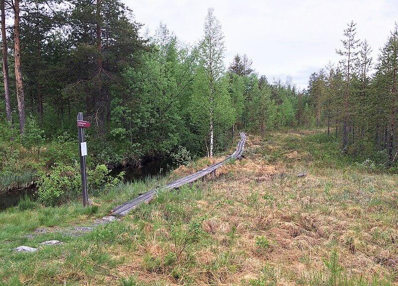 Jokkmokk in Zweeds Lapland