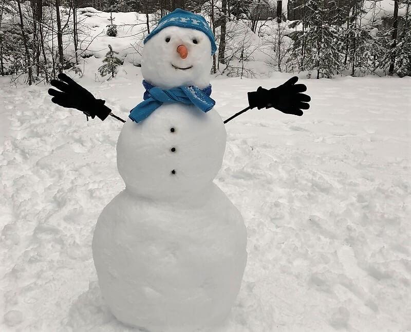 Sneeuwpop in Zweden