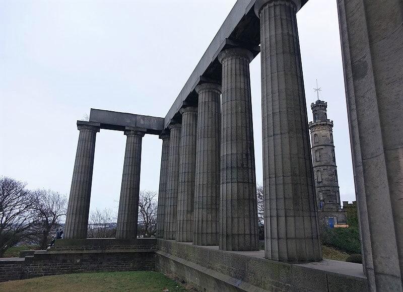 Calton Hill in Edinburgh
