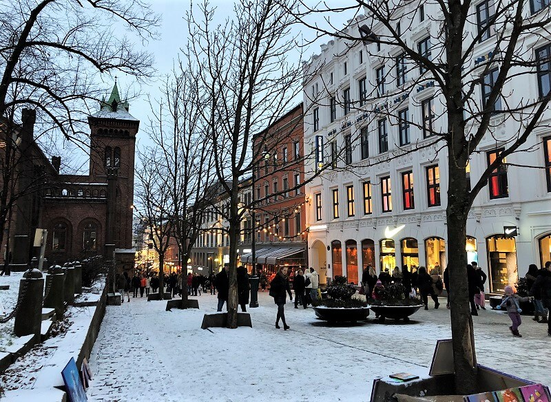 Oslo in de winter
