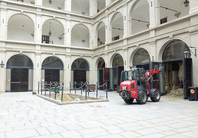 Spaanse rijschool in Wenen