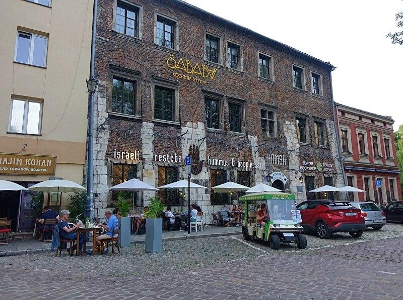 lekker eten in Krakau