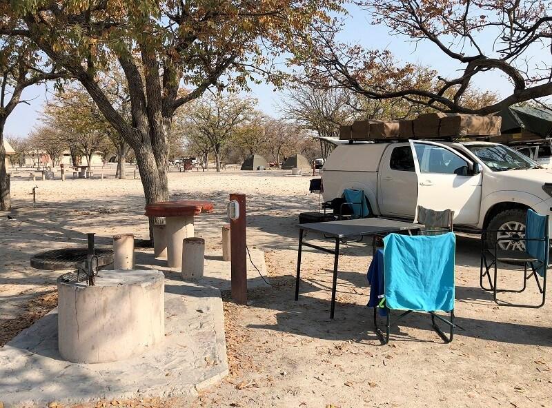 kamperen in Namibië