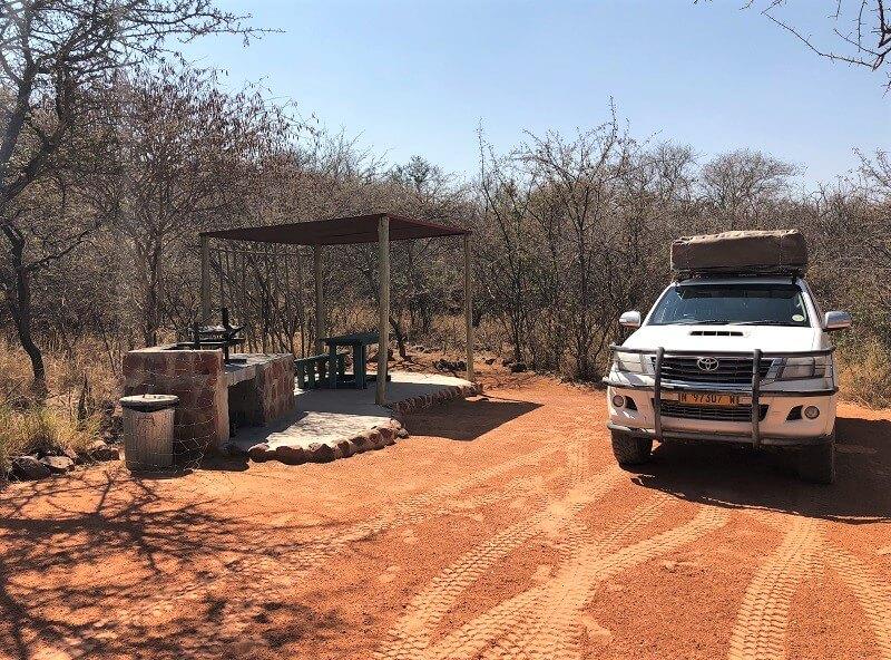 campings in Namibië