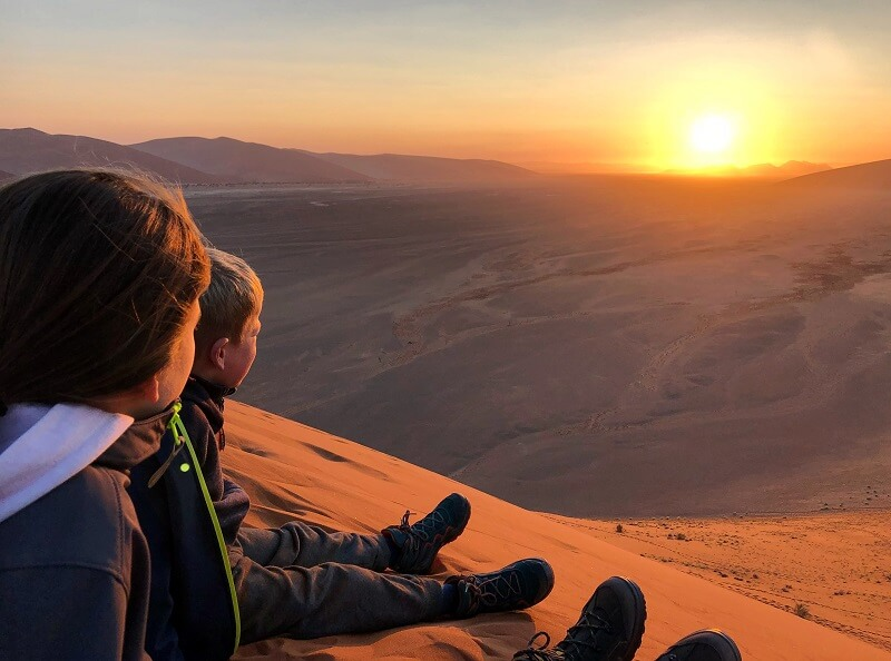 reis door Namibië