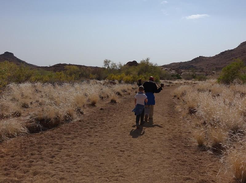 Brandberg in Namibië