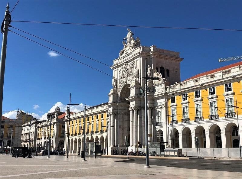fietsen door Lissabon