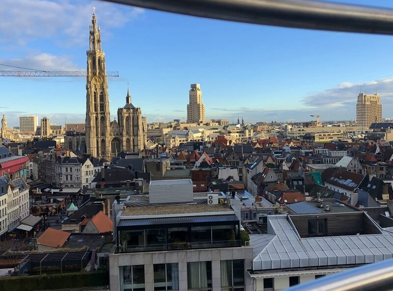Antwerpen in de winter