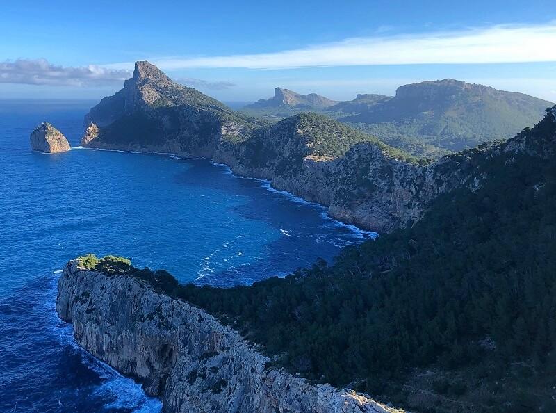 Cap de Formentor op Mallorca