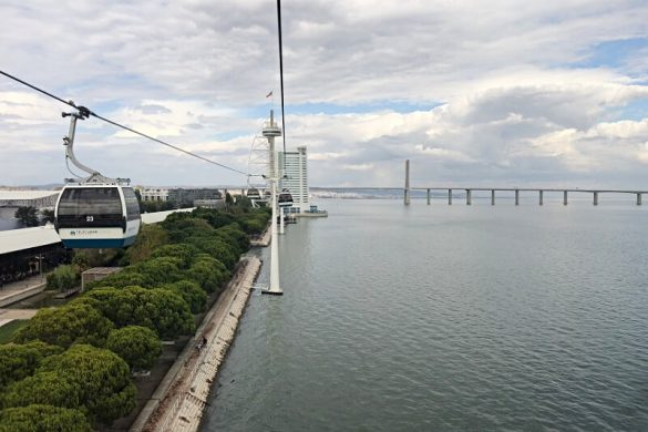 Parque das Nações in Lissabon