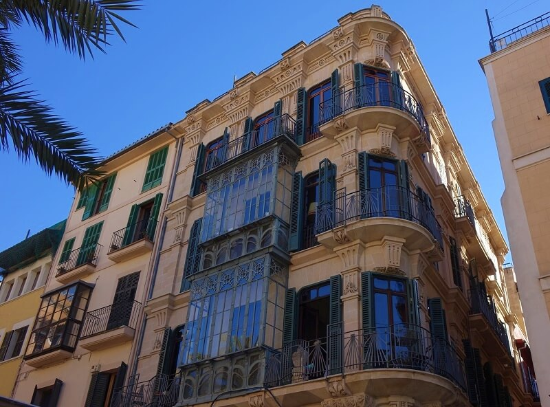 architectuur in Palma de Mallorca