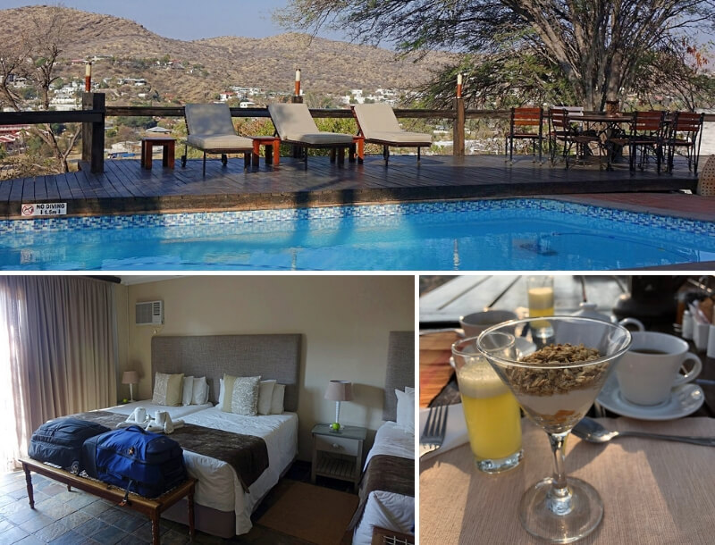 Hilltop Guesthouse in Windhoek