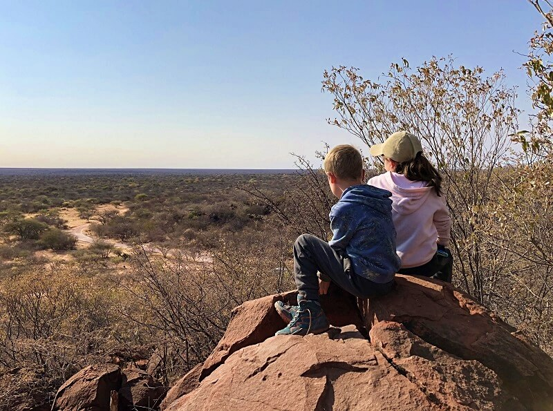 Waterberg Plateau in Namibië