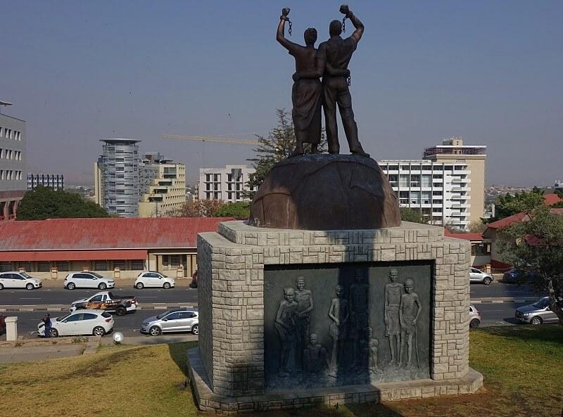 doen in Windhoek in Namibië