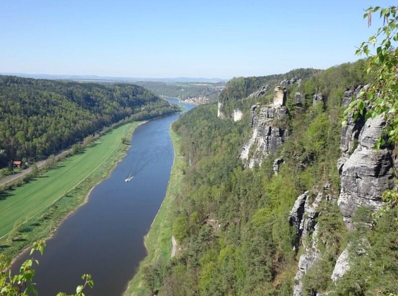 Rivier de Elbe