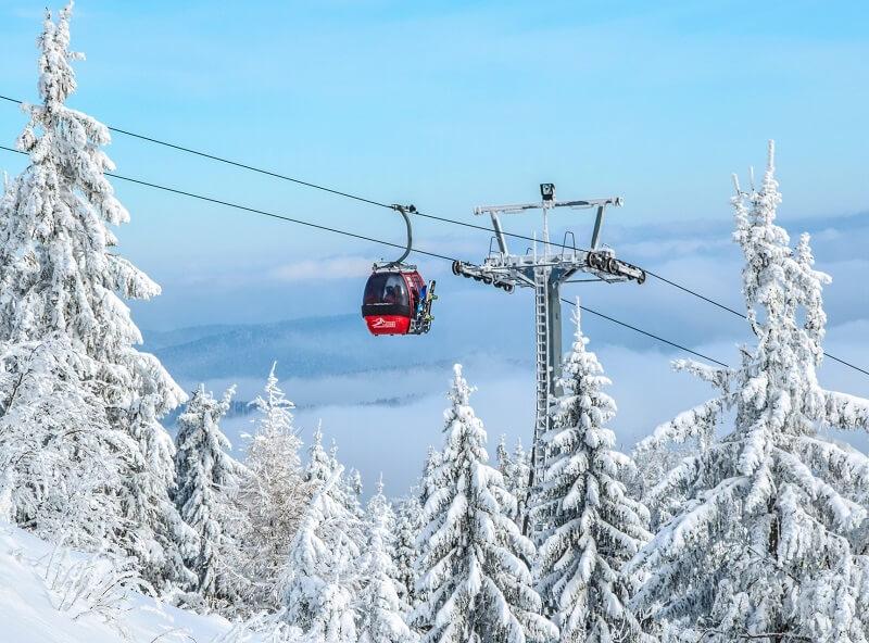 wintersport in de Tatras