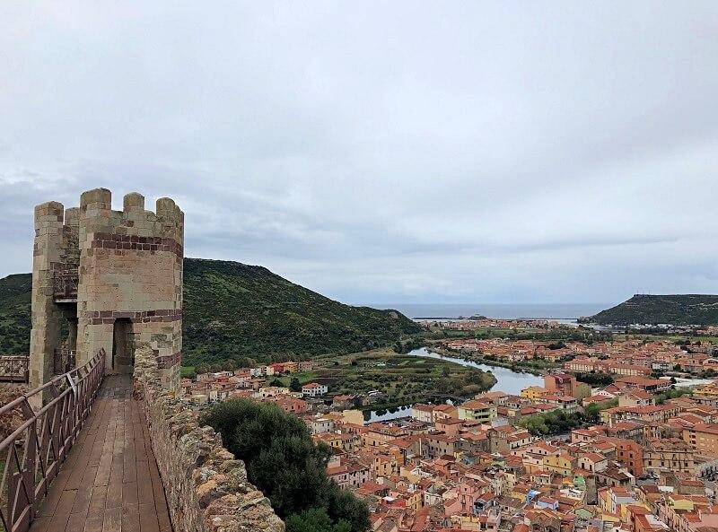 Castello Malaspina in Bosa