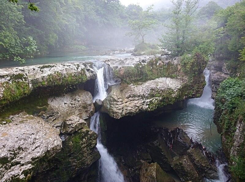 Martvili watervallen