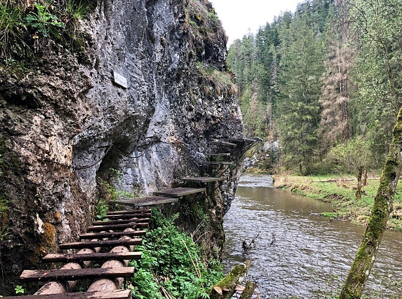 wandelen in het Slowaaks Paradijs