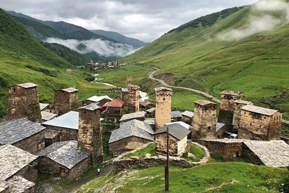 Svaneti in Georgië