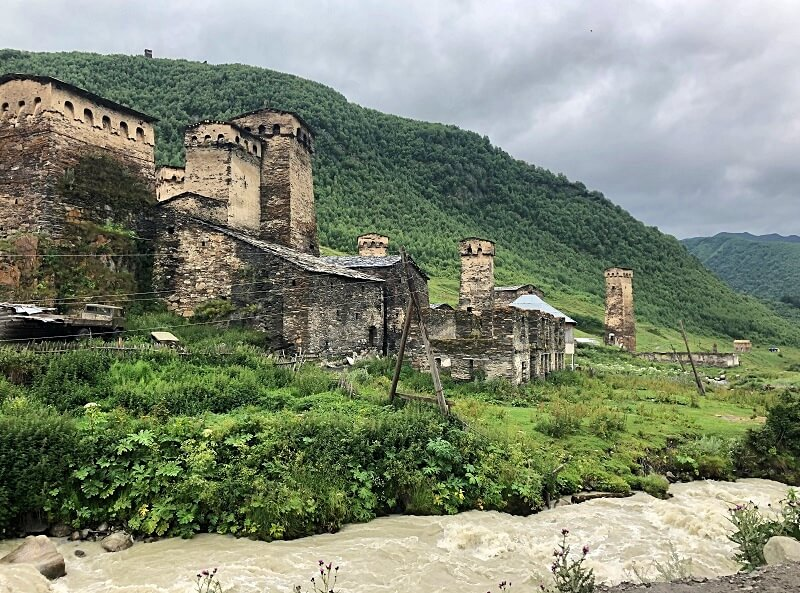 Svaneti in Georgië
