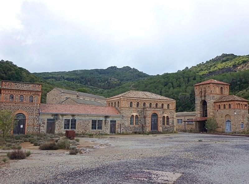 Montevecchio op Sardinië