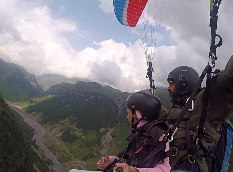 paragliden in Georgië