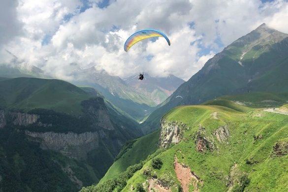 paragliding in Georgië