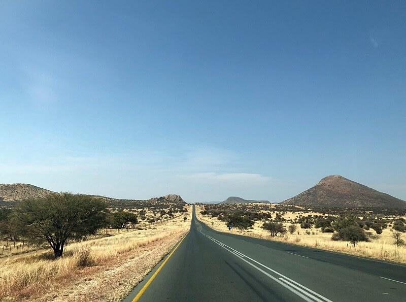 wegen in Namibië