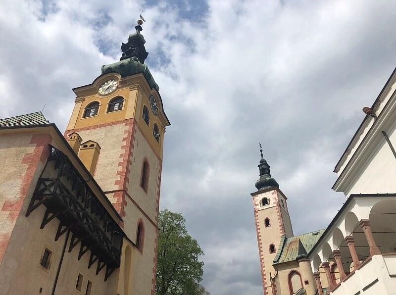 Banská Bystrica in Slowakije