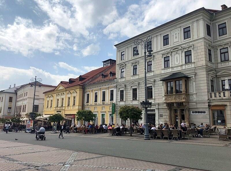 Banska Bystrica in Slowakije
