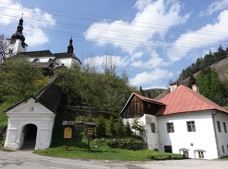 Špania Dolina in Slowakije