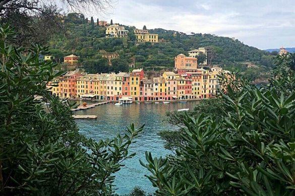 Portofino aan de Italiaanse Riviera