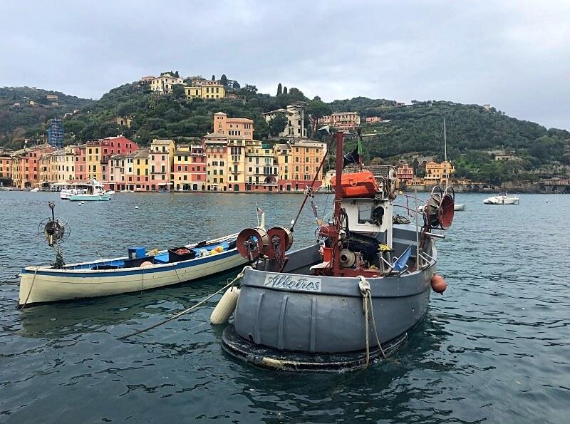 Portofino aan de Italiaanse Rivièra