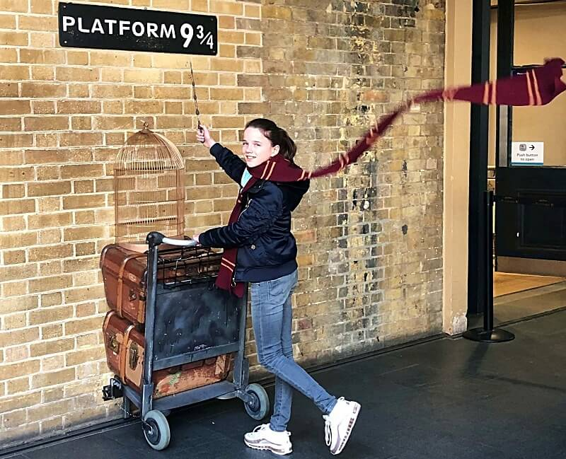 Harry Potter in Londen