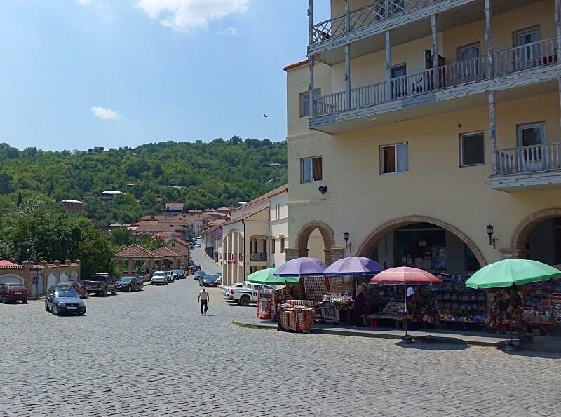 plein in Sighnaghi