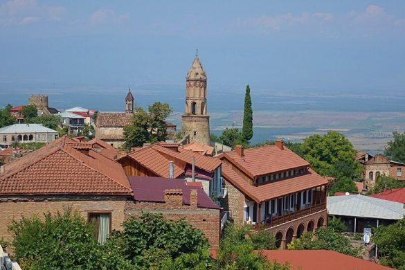 Sighnaghi en het Bodbe Klooster