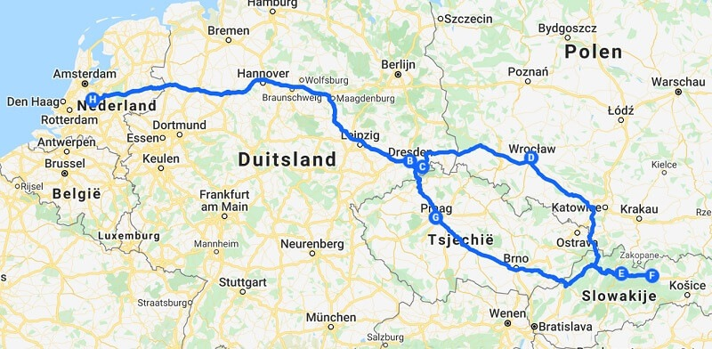 roadtrip naar Slowakije
