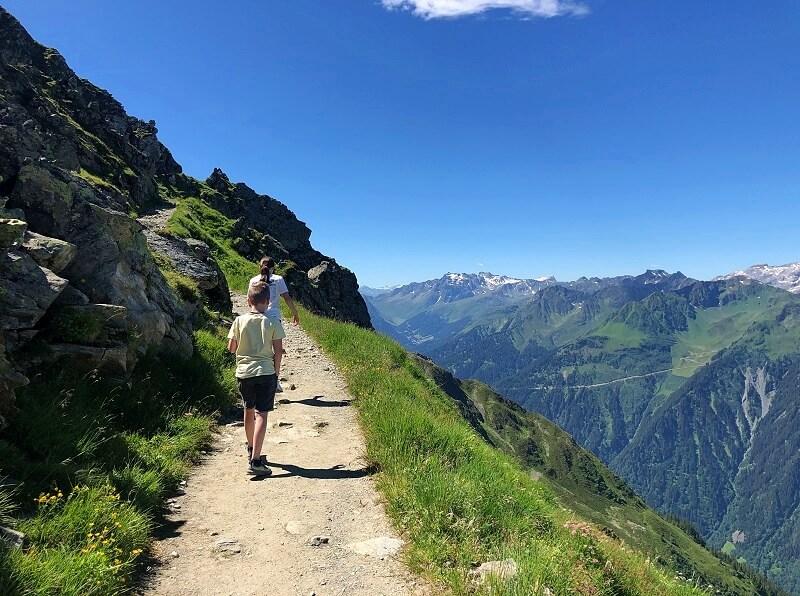 wandelen in Vorarlberg