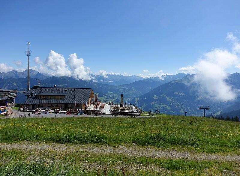 Panorama-restaurant Gruneck