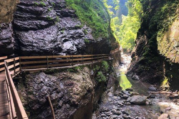 Rappenlochschlucht in Vorarlberg