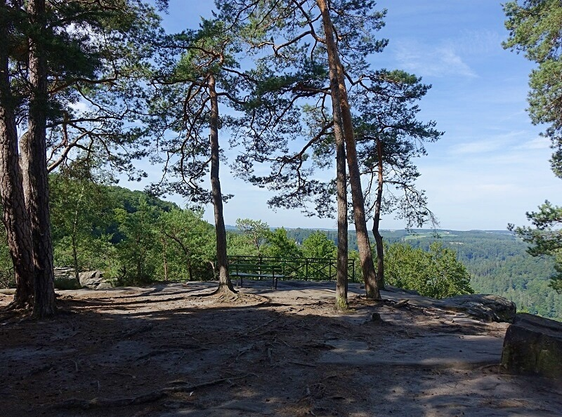 uitzichtpunt Mullerthal