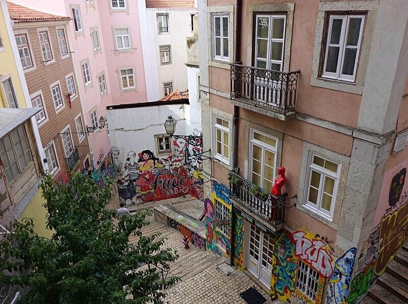 Alfama en Mouraria in Lissabon
