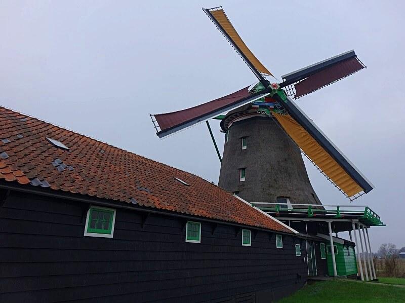 bezoek aan de Zaanse Schans