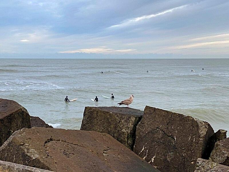 golfsurfen in Wijk aan Zee
