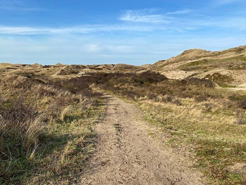 wandelen in Wijk aan Zee